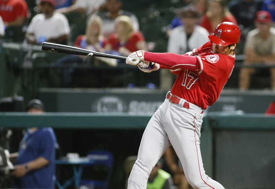 We can safely say that no MLB player has ever had a day like Shohei Ohtani on Wednesday. (AP Photo)