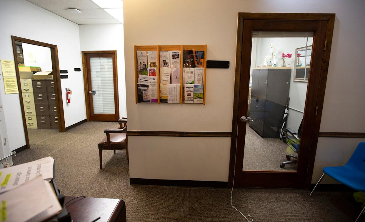 The front offices at the Portsmouth city probation office. Heather Hren, now 37, alleges sexual misconduct by Phillip Malone, 64, who was a probation officer and his brother Mark Malone, 58, when she reported for probation in 2006. Malone is a former Scioto County Sheriff's dispatcher and former probation officer. He was fired from both jobs. Several women have come forward accusing Malone of sexual misconduct. Both Malone brothers deny all allegations. Rumors have long circulated in the small city of Portsmouth about men in power taking advantage of vulnerable women. Michael Mearan, prominent Portsmouth attorney, is part of an 80-page affidavit created by the Drug Enforcement Administration in 2015 to obtain permission to wiretap several phone, including Mearan's. It alleges he is part of a sex trafficking network.