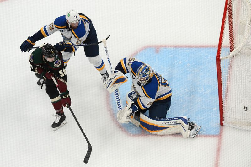 NHL: St. Louis Blues at Arizona Coyotes