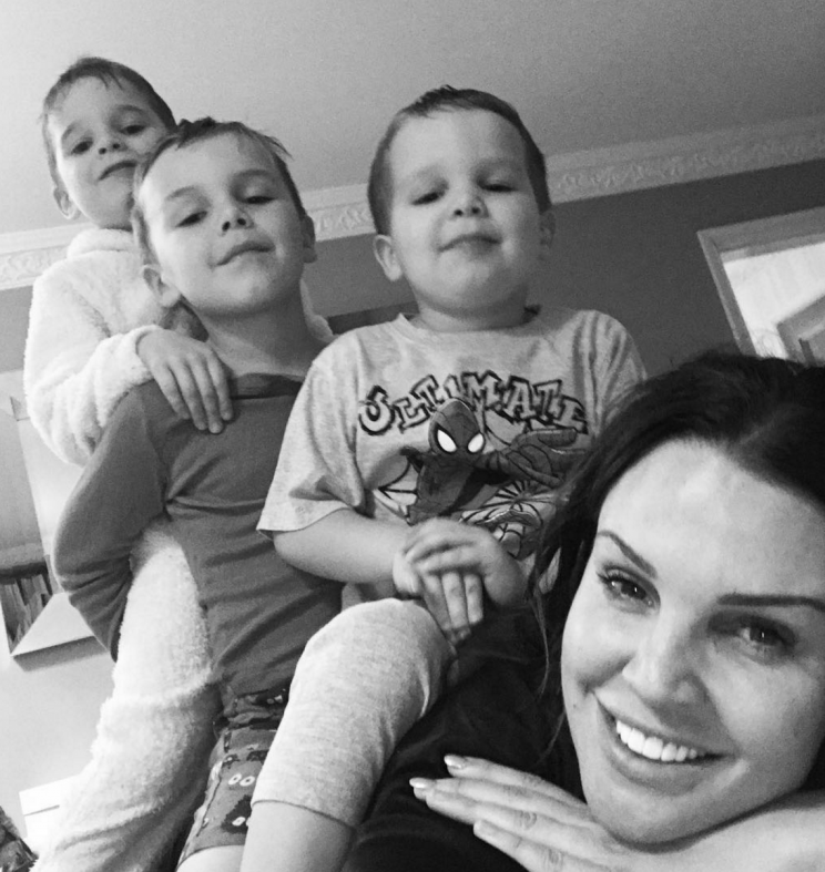 Danielle claims Jamie's family have made no effort to see their children.