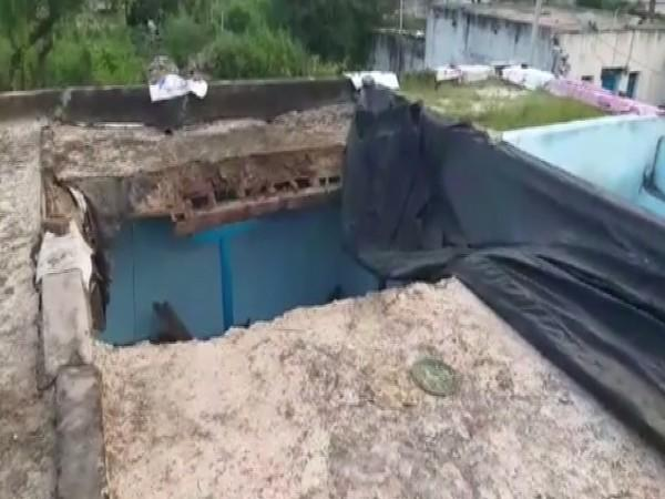 A visual from the site of incident in Wanaparthy, Telangana.