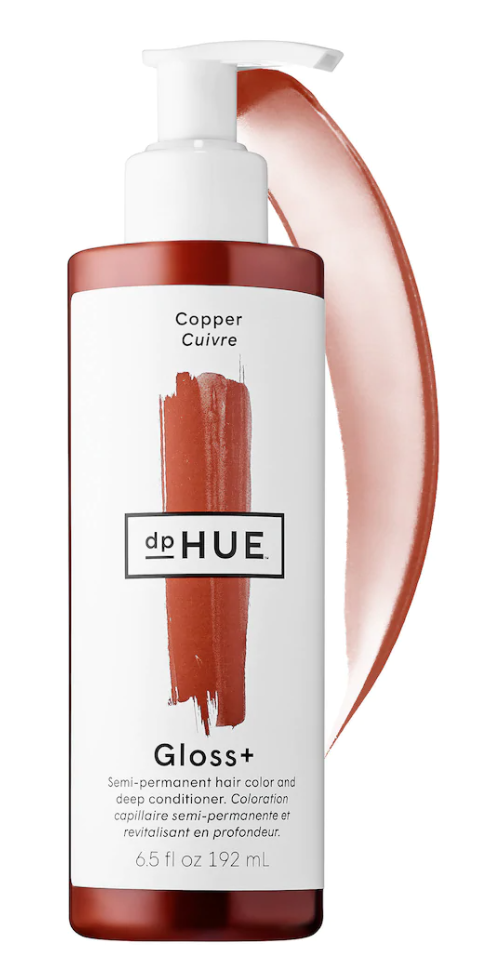 dpHUE Gloss+ Semi-Permanent Hair Colour and Deep Conditioner in Copper