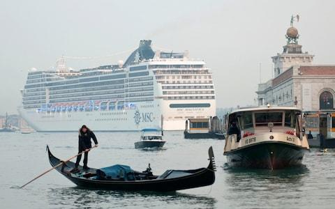 The debate over the impact of big cruise ships has been going on for years in Venice. - Credit: AFP