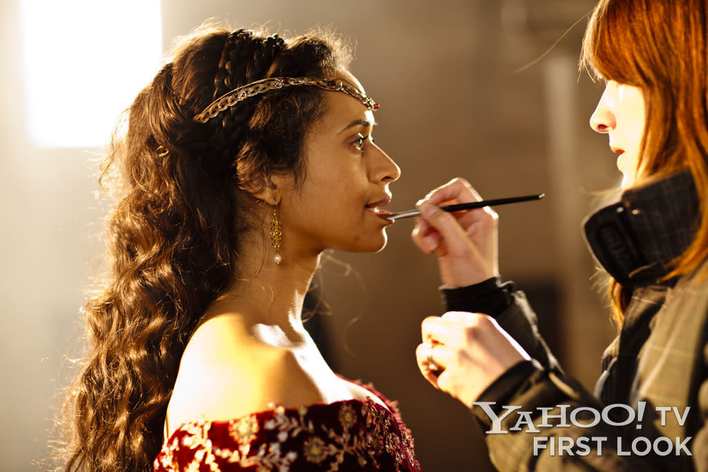 Angel Coulby began playing Gwen when the character was a humble servant in Camelot with a bit of a crush on Prince Arthur - and segued into a bold, confident Queen Guinevere by the final season.