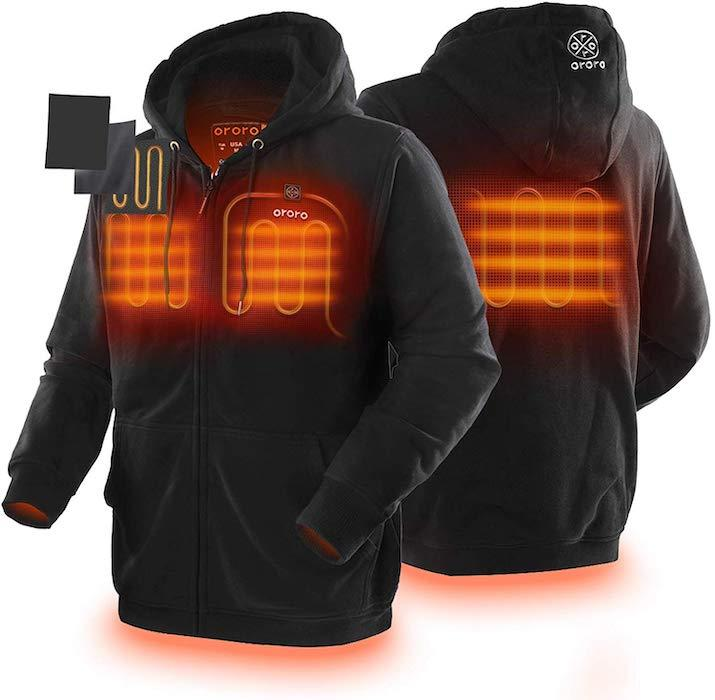 Keep warm indoors or wear this hoodie as an extra layer. (Photo: Amazon)