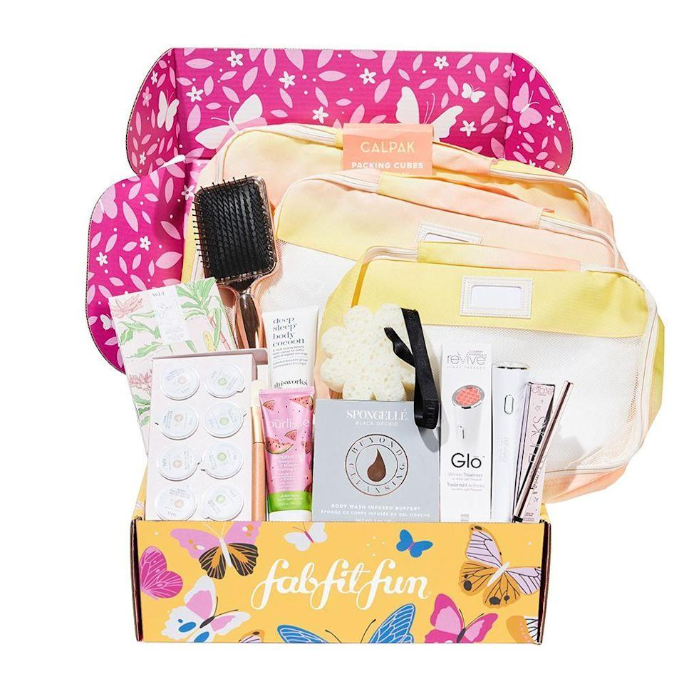 "<p><strong>FabFitFun</strong></p><p>fabfitfun.com</p><p><strong>$25.00</strong></p><p><a href=""https://go.redirectingat.com?id=74968X1596630&url=https%3A%2F%2Ffabfitfun.com%2Fgift%2F&sref=https%3A%2F%2Fwww.bestproducts.com%2Fbeauty%2Fg154%2Ftop-gifts-for-her%2F"" rel=""nofollow noopener"" target=""_blank"" data-ylk=""slk:Shop Now"" class=""link rapid-noclick-resp"">Shop Now</a></p><p>FabFitFun is the gift that keeps on giving. We're not exaggerating when we describe the seasonal box as enormous compared to other monthly subscriptions.</p><p>It's jam-packed with products like makeup, hair and skincare items, accessories, and <a href=""http://www.bestproducts.com/fitness/health/a490/online-fitness-programs-workouts/"" rel=""nofollow noopener"" target=""_blank"" data-ylk=""slk:fitness necessities"" class=""link rapid-noclick-resp"">fitness necessities</a> that she'll play with all season.<br></p>"
