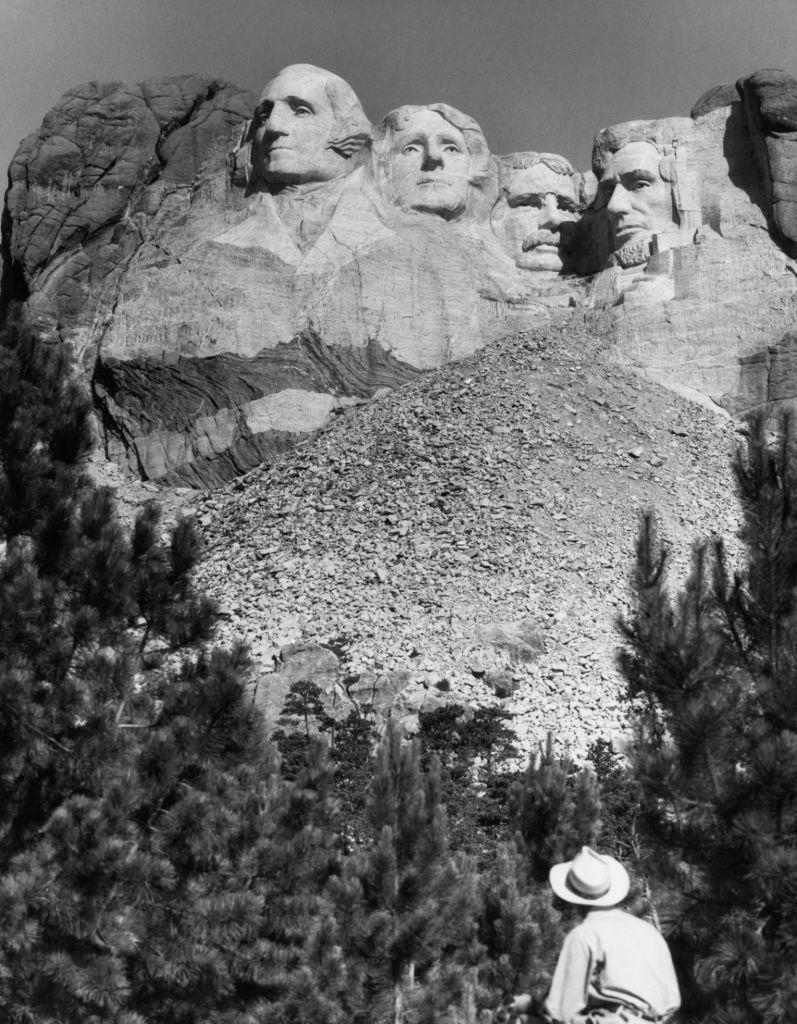 """<p>Around this time, packing up your Chevrolet and traveling all around the Midwest was the perfect vacation. Stopping at destinations like <a href=""""https://www.nps.gov/moru/index.htm"""" rel=""""nofollow noopener"""" target=""""_blank"""" data-ylk=""""slk:Mount Rushmore"""" class=""""link rapid-noclick-resp"""">Mount Rushmore</a>, <a href=""""https://www.americanrivers.org/river/yellowstone-river/"""" rel=""""nofollow noopener"""" target=""""_blank"""" data-ylk=""""slk:Yellowstone River"""" class=""""link rapid-noclick-resp"""">Yellowstone River</a>, and <a href=""""https://www.yellowstonepark.com/things-to-do/about-old-faithful"""" rel=""""nofollow noopener"""" target=""""_blank"""" data-ylk=""""slk:Old Faithful"""" class=""""link rapid-noclick-resp"""">Old Faithful</a> encapsulated the American essence. </p>"""