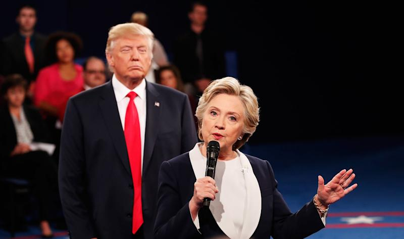 Clinton says her 'skin crawled' when Trump hovered during debate