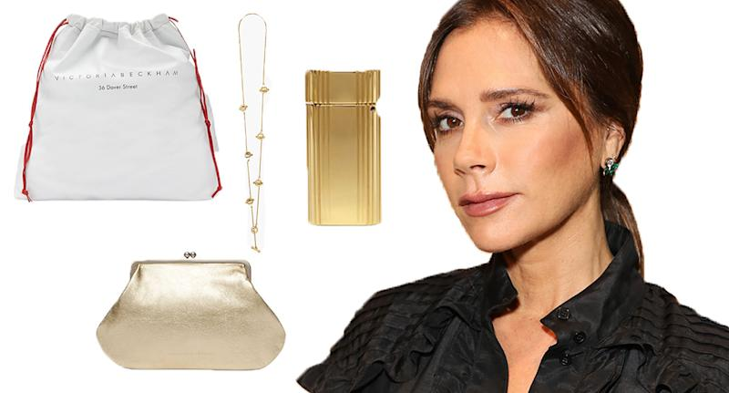 Victoria Beckham's 'little luxuries' gift guide begins at £95. [Photo: Getty/Victoria Beckham]