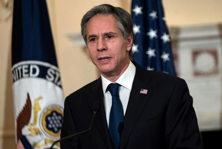 US Secretary of State Antony Blinken, seen speaking on March 3, 2021, will visit Japan and South Korea on his first foreign trip
