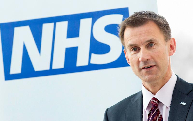 Jeremy Hunt has repeatedly pledged to clamp down on excessive management pay  - PA