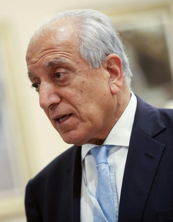 Zalmay Khalilzad, seen here during intra-Afghan talks in Doha in July 2019, negotiated for around a year with the Taliban (AFP Photo/KARIM JAAFAR)
