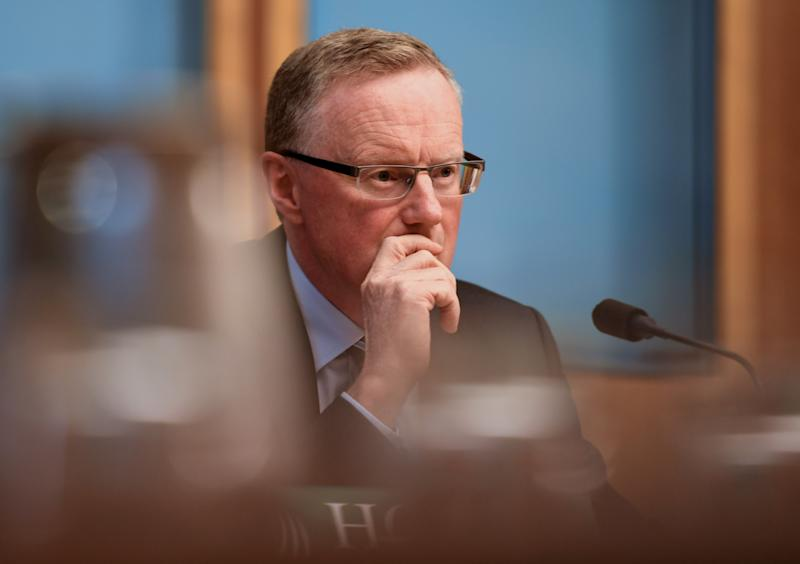 CANBERRA, AUSTRALIA - FEBRUARY 07: Reserve Bank Governor Philip Lowe looks on during the House of Representatives Economics Committee at Parliament House on February 07, 2020 in Canberra, Australia. The hearing is part of an accountability process for the Reserve Bank of Australia and provides a forecast for Australian Monetary Policy. The re-escalation of US-China disputes and the coronavirus are creating uncertainty in the economy. (Photo by Tracey Nearmy/Getty Images)