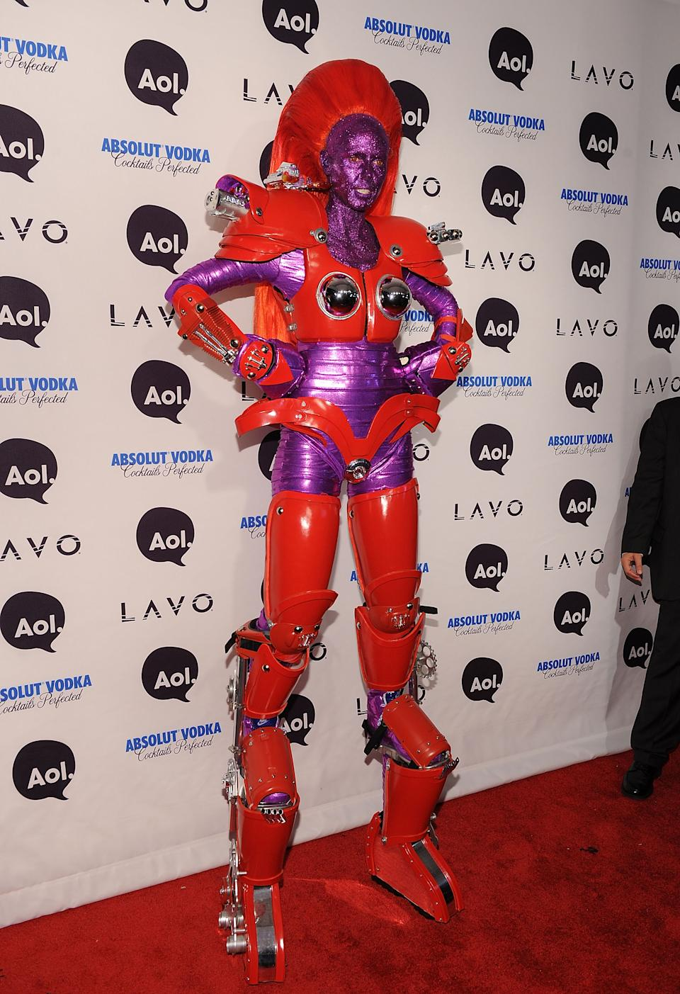 NEW YORK - OCTOBER 31:  Heidi Klum attends Heidi Klum's 2010 Halloween Party at Lavo on October 31, 2010 in New York City.  (Photo by Bryan Bedder/Getty Images)