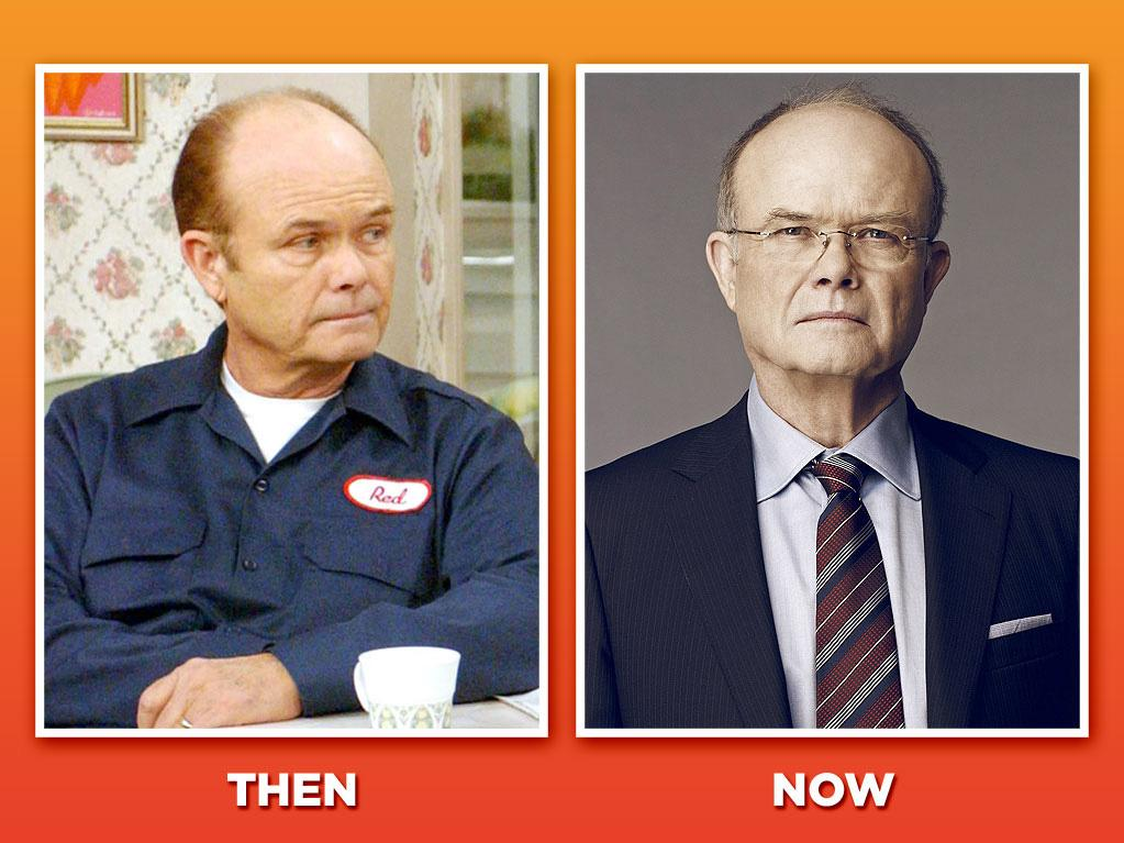 "Kurtwood Smith (Reginald ""Red"" Forman)<br><br> Playing mean was nothing new to Smith when he took on the role of Eric's cranky dad, Red; he established himself playing heavies in films like ""<a href=""http://movies.yahoo.com/movie/dead-poets-society/"">Dead Poets Society</a>"" and ""<a href=""http://movies.yahoo.com/movie/robocop/"">Robocop</a>."" But the role of Red brought out Smith's comic side, and he's kept working in that vein ever since, co-starring as befuddled father Dick Clayton on CBS's 2008-09 sitcom ""<a href=""http://tv.yahoo.com/worst-week/show/42310"">Worst Week</a>."" He's since popped up on Adult Swim's ""<a href=""http://tv.yahoo.com/children-39-s-hospital/show/45437"">Childrens Hospital</a>"" and CBS's wacky CIA comedy, ""<a href=""http://tv.yahoo.com/chaos/show/46758"">Chaos</a>."""