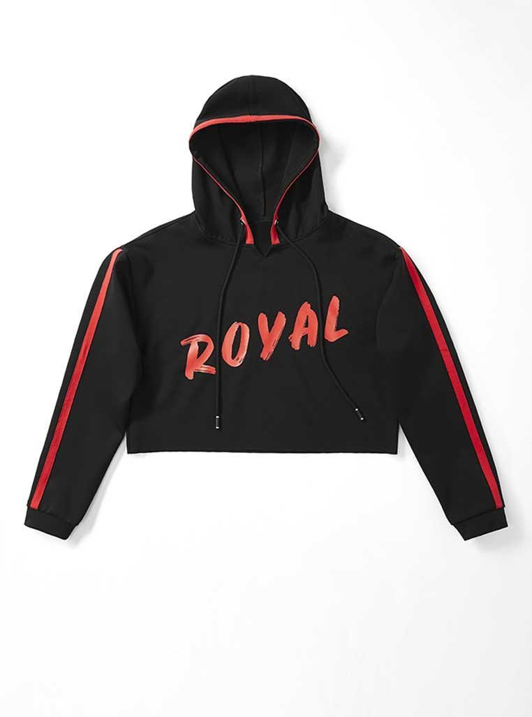 """The """"Royal Duchess"""" sweater from Serena Williams's fashion collection. (Photo: Serena)"""