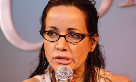 Janeane Garfalo reportedly got married from the back of a cab at a drive-through chapel in Vegas in the early '90s. But really, who hasn't?