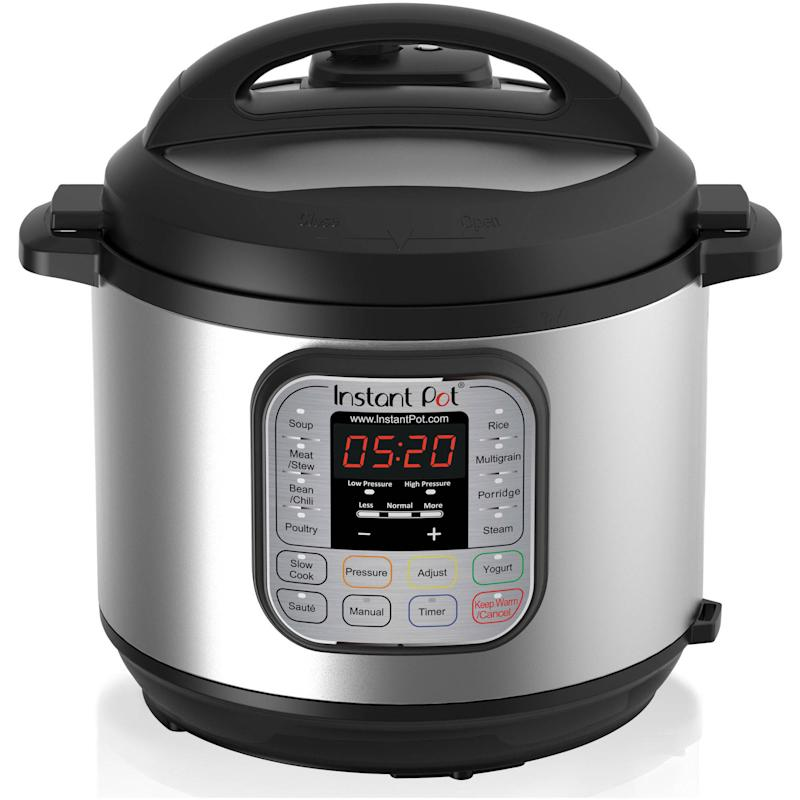 Instant Pot DUO60 6-quart 7-in-1 Programmable Multi-Use Cooker. (Photo: Walmart)