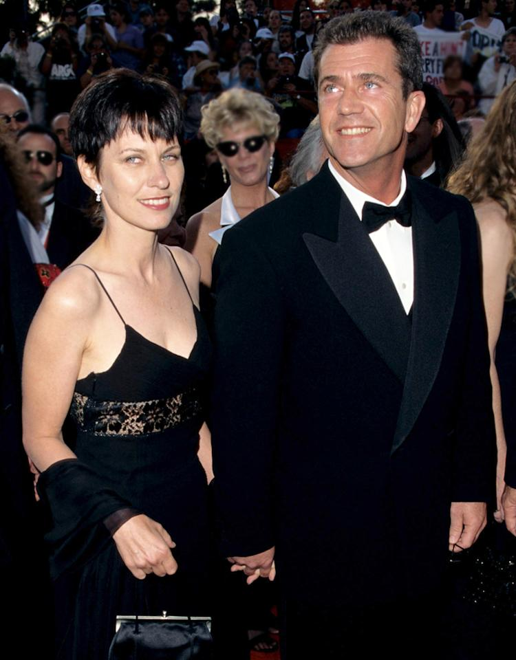 Mel Gibson (right) and wife Robyn (Photo by Steve Granitz Archive/WireImage)