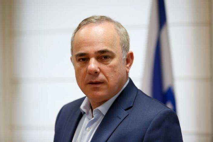 FILE PHOTO: Israel's Energy Minister Yuval Steinitz poses for a photograph during an interview with Reuters, in Jerusalem