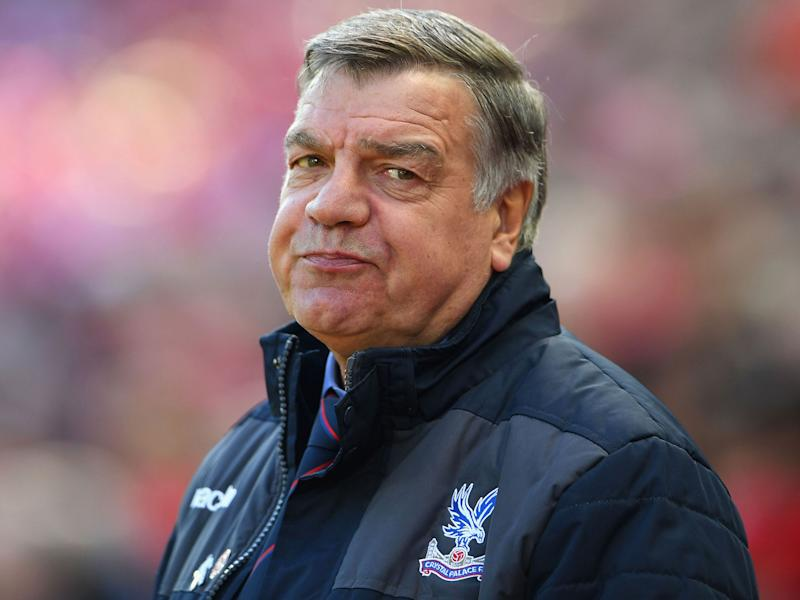Sam Allardyce knew Crystal Palace could hit Liverpool on the break out wide: Getty
