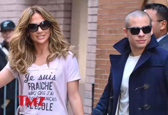 <p>After her split with Mark Anthony in 2011, JLo is recently dating this twentysomething choreographer and has also been pretty cool about it. Well, she says she does not know what the future has in store and is happy at the moment.</p>