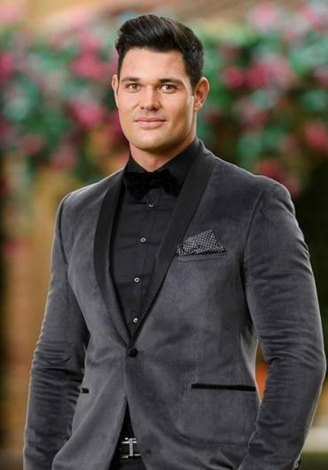 He is currently vying for Sophie Monk's heart on The Bachelorette. Source: Channel 10