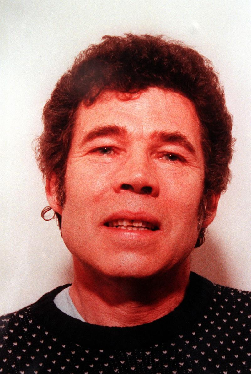 A police-issued photograph of Fred West after his wife Rosemary West had been imprisoned for life on ten counts of murder. 24/8/01: West whose police interviews are to be broadcast for the first time after Gloucestershire Police failed in their bid to have them banned. * Lord Goldsmith, the Attorney General, has dismissed a request by the force to prevent screening of the taped interviews on a Channel 5 documentary, due to be shown in the autumn. It is understood that the interviews will form part of a programme that will criticise the police for failing to investigate fully claims that West committed more murders than the 12 for which he was charged. *26/09/01 The makers of a documentary about mass murderer Fred West called for a public inquiry after claiming West admitted there could be up to 20 more bodies buried in the countryside.The Channel 5 film, which Gloucestershire police tried to stop, will broadcast excerpts from hundreds of hours of Fred West's taped interviews with detectives and his defence solicitor. In one extract West describes to detectives how he disposed of one of his victims on a moonlit night in his back garden by burying her body parts in a hole.