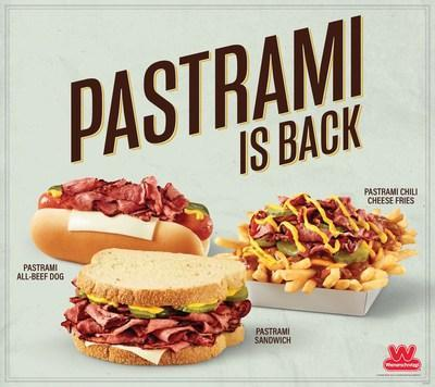 Swing by your nearest Wienerschnitzel to try the scrumptious Pastrami Sandwich, delectable Pastrami All-Beef Hot Dog and tasty Pastrami Chili Cheese Fries. But hurry, this tasty trio is available for a limited time only. To find a Wienerschnitzel near you or for more info, visit www.wienerschnitzel.com