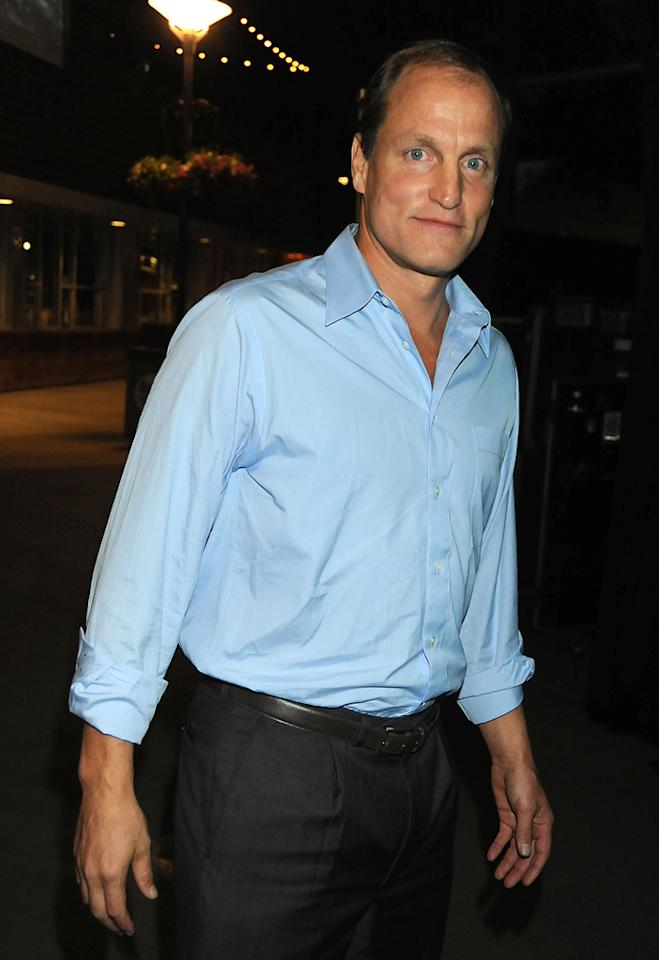"""<a href=""""http://movies.yahoo.com/movie/contributor/1800018911"""">Woody Harrelson</a> at the 2009 Spike TV Scream Awards in Los Angeles - 10/17/2009"""