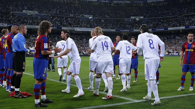 Ramos shrugs off Real Madrid's guard of honour row with title-chasing Barcelona