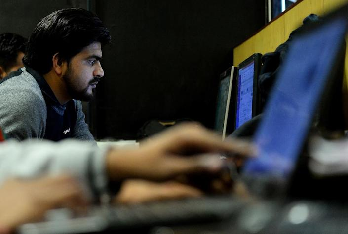 The H-1B visa program is used widely by the tech sector and dominated by computer professionals from India (AFP Photo/ SAJJAD HUSSAIN)