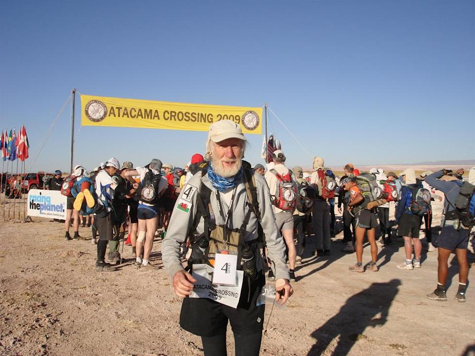 Brophy has previously taken on the Atacama Crossing. (GoFundMe)