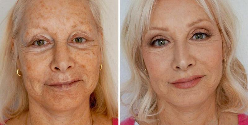 ae46fb34573 This Makeup Artist Made Her Mom Look 10 Years Younger and Reddit Is ...