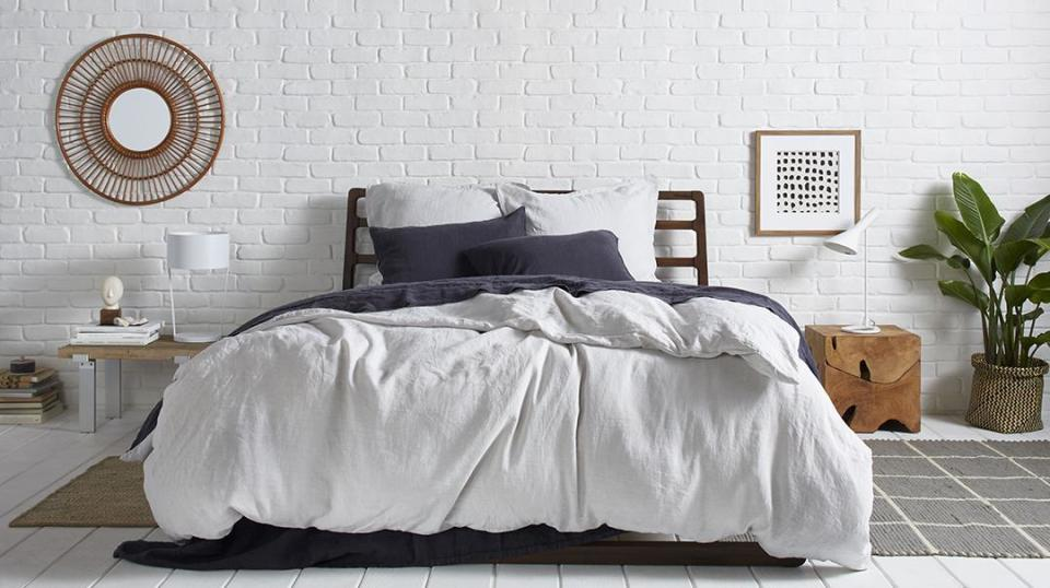 Now's your chance to snag luxe sheets, pillowcases, towels, bathrobes, and more for a steal. (Photo: Parachute)