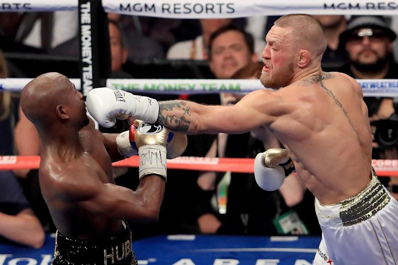 The Irishman is confident of avenging his boxing loss to Floyd Mayweather Jr in 2017 (Getty Images)
