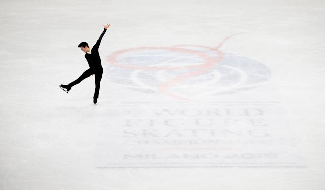 Figure Skating - World Figure Skating Championships - The Mediolanum Forum, Milan, Italy - March 24, 2018 Nathan Chen of the U.S. during the Men's Free Skating REUTERS/Alessandro Garofalo TPX IMAGES OF THE DAY