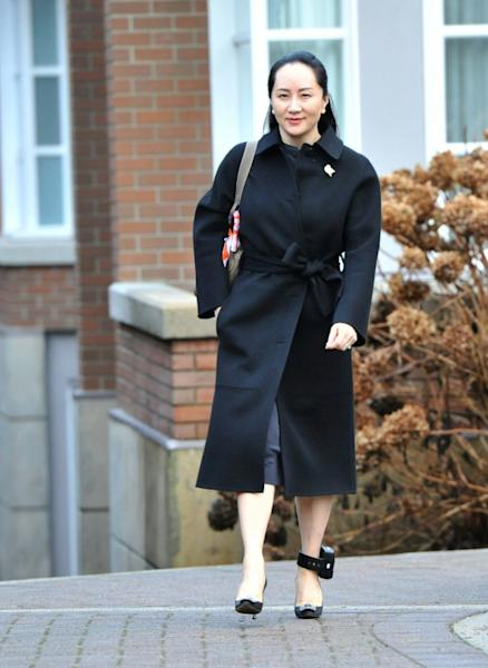 Huawei chief financial officer Meng Wanzhou, under house arrest in Canada pending an extradition request from the United States, has been indicted on new US criminal charges (AFP Photo/Don MacKinnon)