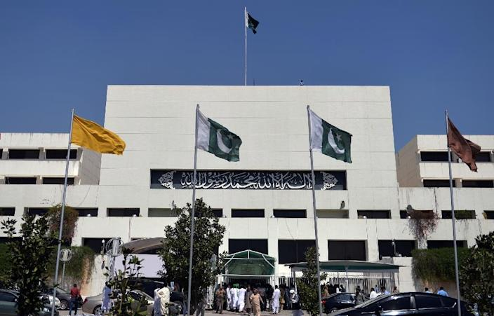 A unanimous resolution passed by parliament said Pakistan should not get involved in fighting in Yemen -- turning down longstanding ally Riyadh's request for troops, ships and warplanes (AFP Photo/Aamir Qureshi)