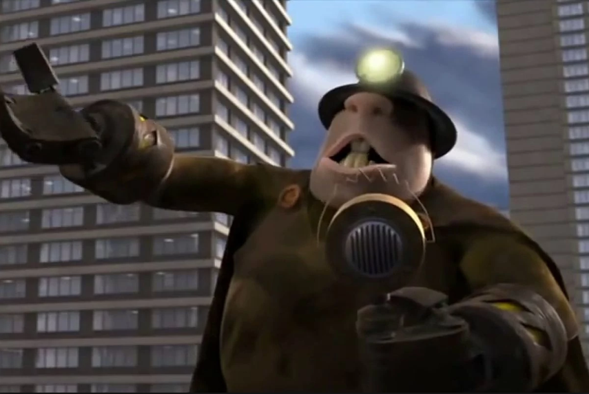 Pixar good luck charm John Ratzenberger continues his streak of appearing in every one of the studio's films, returning as the Underminer in <i>Incredibles 2</i>. (Image: Pixar)