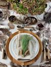 "<p>While this event was for New Year's Day, her beautiful decor serves as excellent inspiration for a weekend getaway in the mountains with a few loved ones or a laid-back NYE in your own home. Lauder incorporates plenty of elements that allow any existing Christmas decor around your home to complement your New Year's table, with pine cones and evergreen fronds at each setting, and plenty of neutrals that won't clash with your red-and-green housewares. </p><p>Check out Lauders brand-new book, <em><a href=""https://www.amazon.com/Entertaining-Beautifully-Aerin-Lauder/dp/0847867528/ref=sr_1_2"" rel=""nofollow noopener"" target=""_blank"" data-ylk=""slk:Entertaining Beautifully"" class=""link rapid-noclick-resp"">Entertaining Beautifully</a></em>, for more gorgeous hosting inspiration.</p>"
