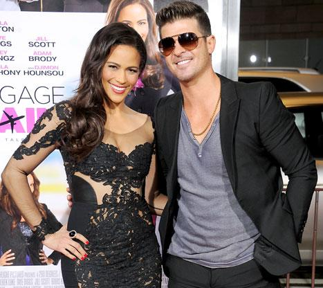 "Paula Patton Talks About Robin Thicke's Anatomy: ""Blurred Lines"" Brag Is ""Accurate"""