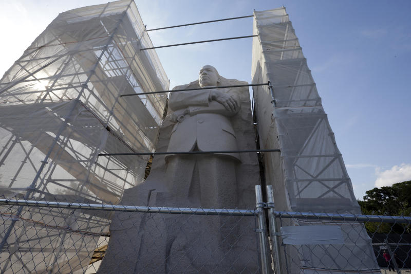 MLK Memorial may not be ready for anniversary