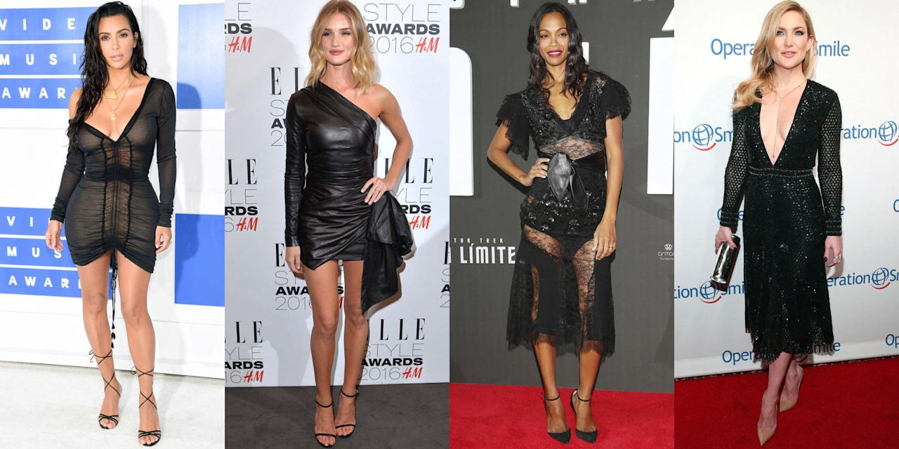 <p>While we see thousands of beautiful red carpet dresses all year long, we still can't deny that the little black dress will always be a woman's go-to. It's the old faithful, and yet always timeless. From leather to lace and embellished frocks, see our favorite LBDs of the year. </p>