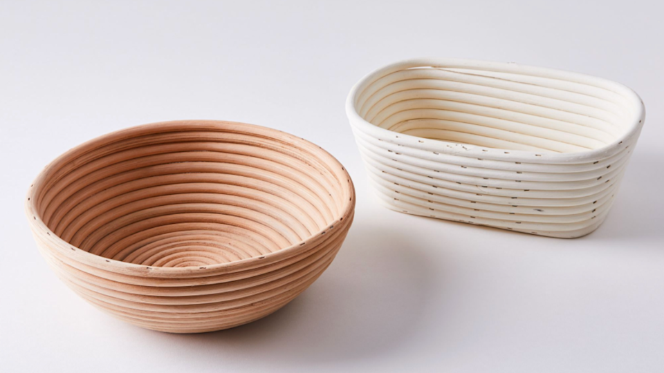 Gifts for bakers: Frieling Brotform Bread Rising Baskets