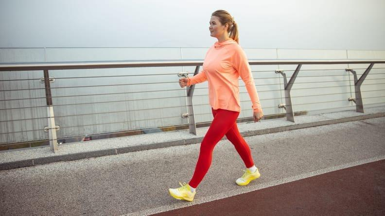 Walking doesn't just work your legs, it strengthens your core and back too.