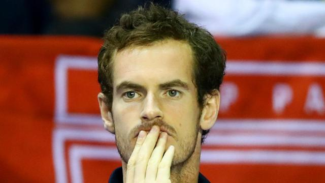 "Great Britain will have to cope without Andy Murray when they face France in the Davis Cup. ""It's obviously a big loss,"" said Leon Smith."