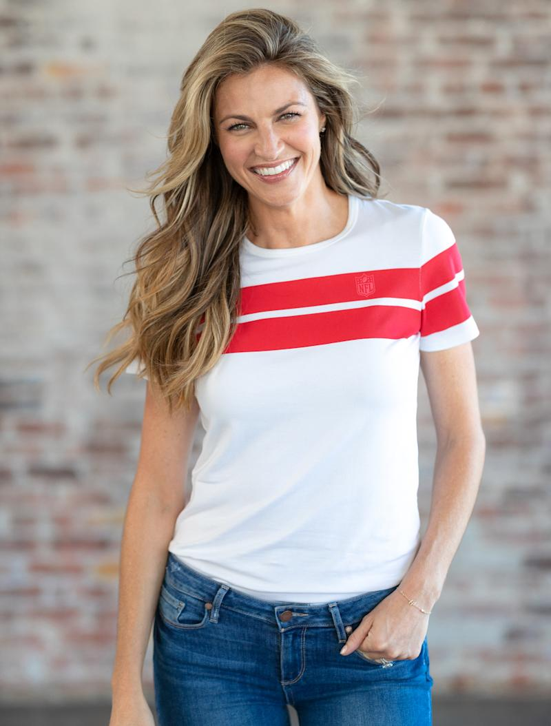 You can never have too many T-Shirts in your closet, so grab this one and show off you team spirit. (Photo: Courtesy of Wear by Erin Andrews)
