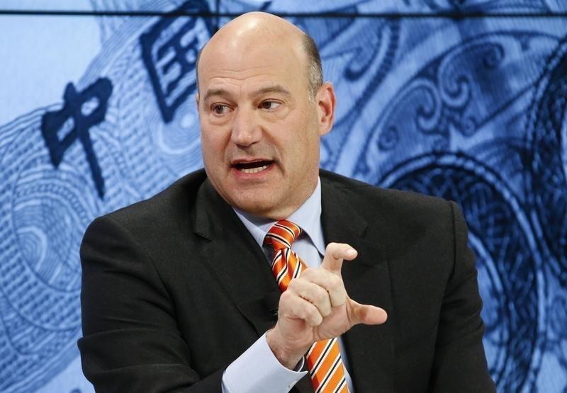 Cohn, President and Chief Operating Officer, Goldman Sachs attends the session 'Where Is the Chinese Economy Heading?' of the annual meeting of the World Economic Forum (WEF) in Davos