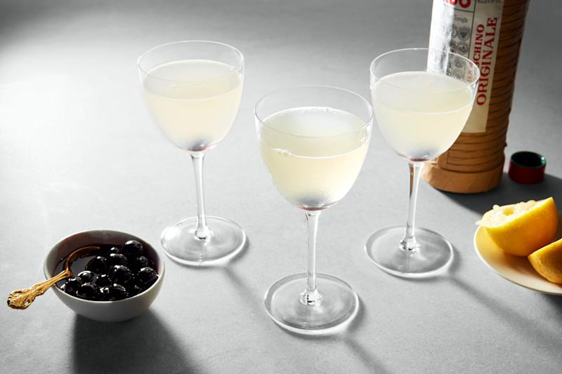 Not convinced by Aviations? Try a Casino Cocktail instead.